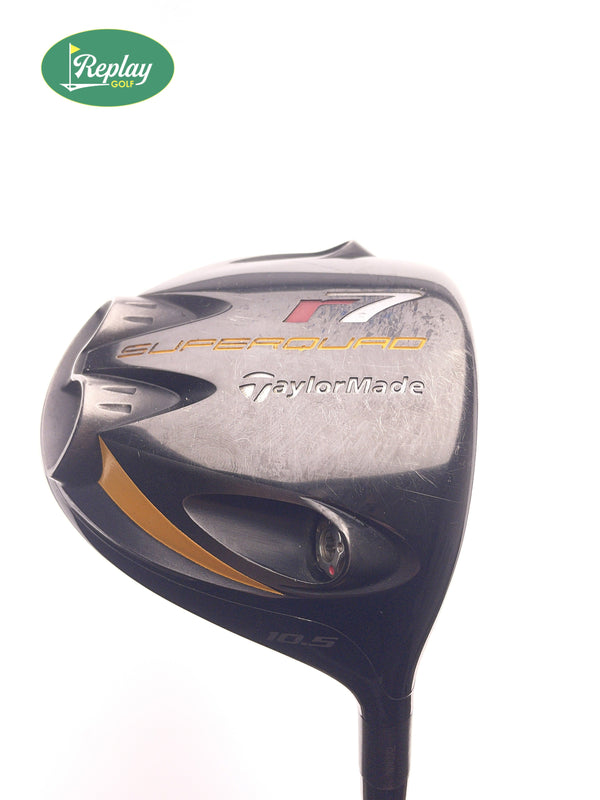 TaylorMade R7 Superquad Driver / 10.5 Degrees / REAX 65 Stiff Flex - Replay Golf