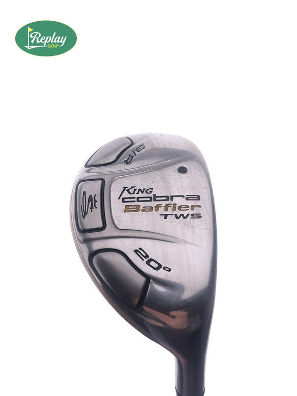 Cobra Baffler TWS 2009 3 Hybrid / 20 Degrees / Aldila DVS HL 65 Stiff Flex - Replay Golf