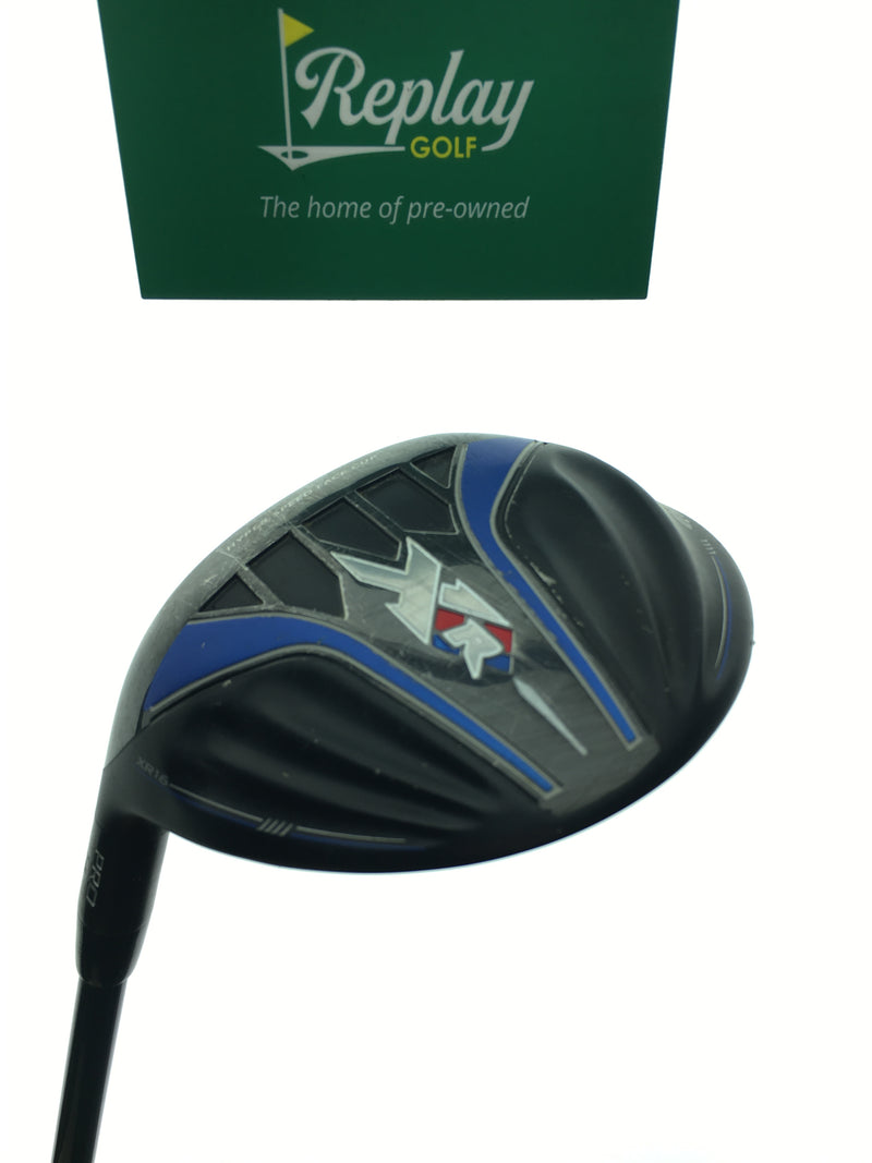 Callaway XR 16 Pro 3 Fairway Wood / 14 Degrees / Fujikura Speeder 765 Stiff / LH - Replay Golf