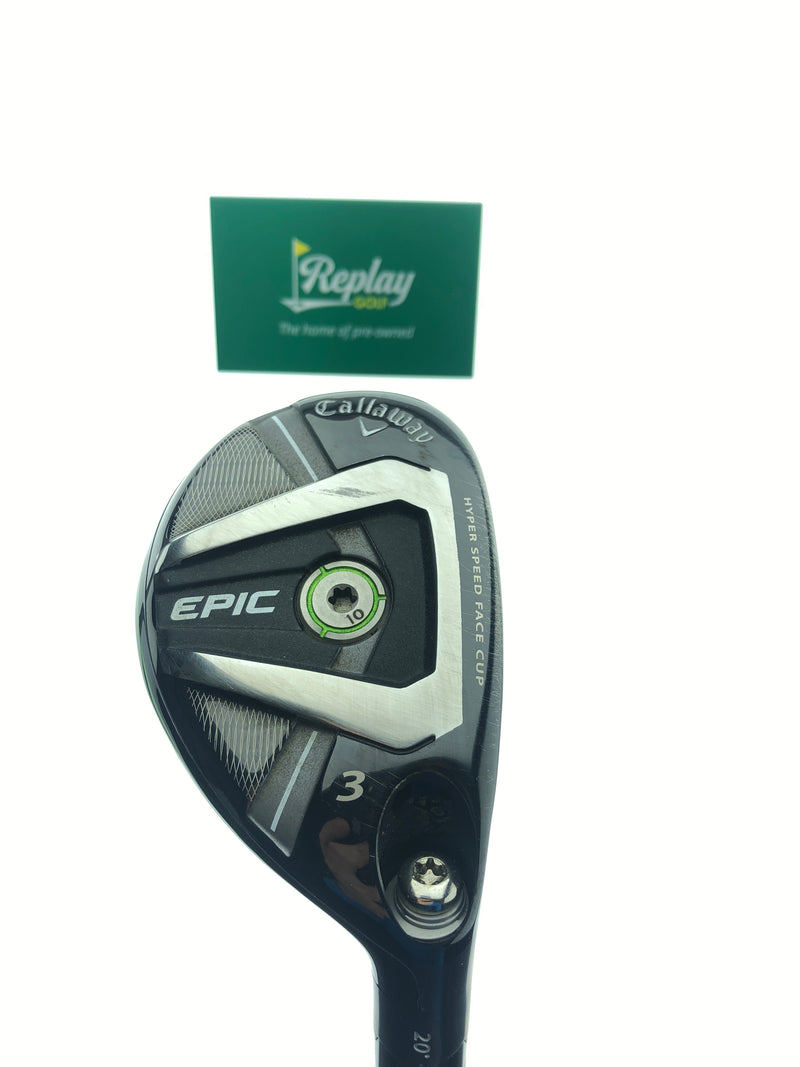 Callaway Epic 3 Hybrid / 20 Degrees / Recoil ES 780 F3 Regular Flex - Replay Golf