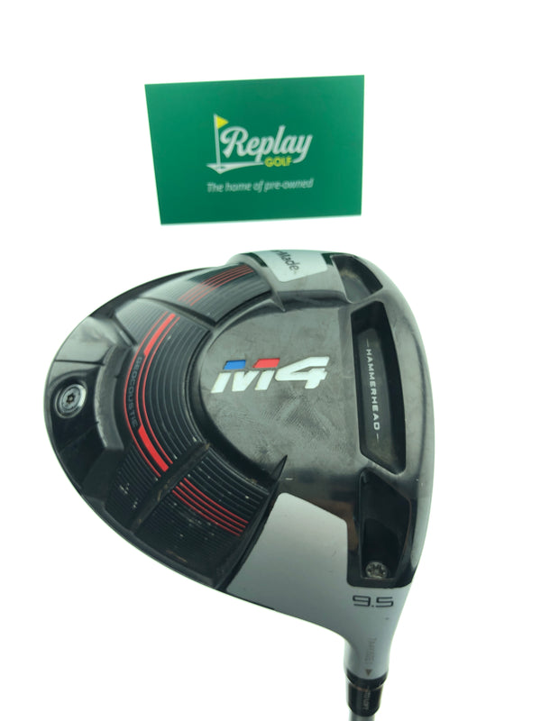 TaylorMade M4 Driver / 9.5 Degrees / Tensei CK Series 60 Stiff Flex - Replay Golf