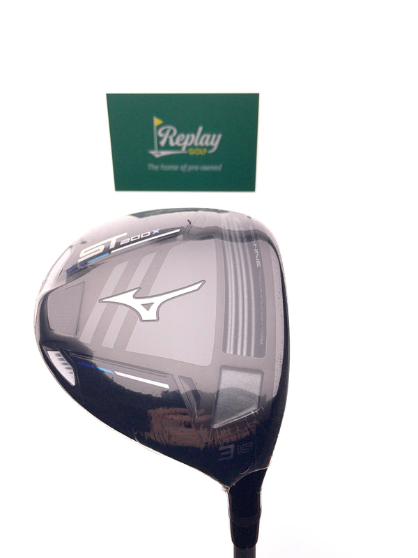 NEW Mizuno ST 200 X 3 Fairway Wood / 15 Degrees / MFusion F42 R Regular Flex - Replay Golf