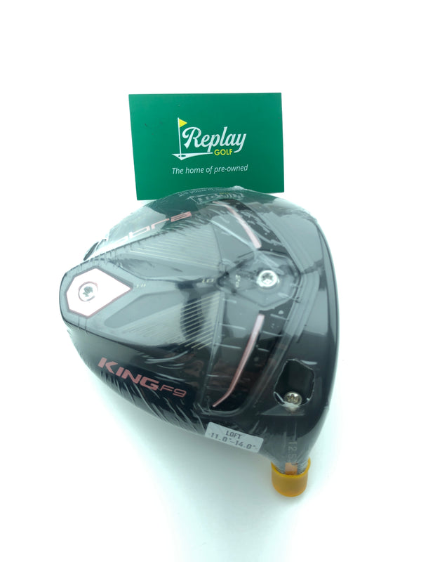 NEW Ladies Cobra King F9 Driver Head Only / 12.5 Degree / Right Handed - Replay Golf