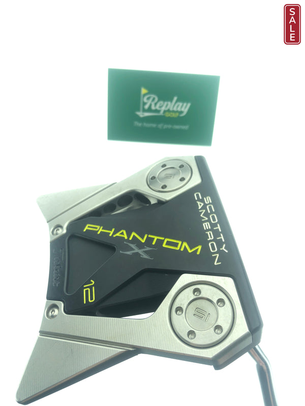 Scotty Cameron Phantom X 12 Putter / 34.0 Inches - Replay Golf