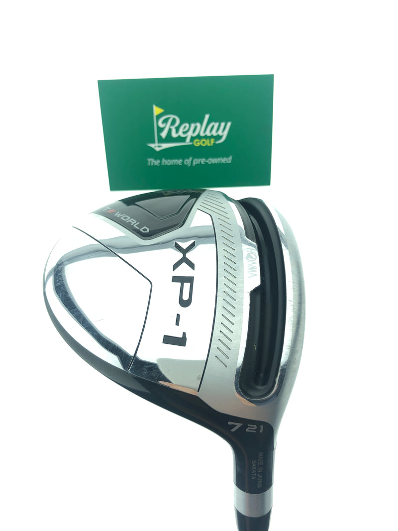 Honma Tour World XP-1 7 Fairway Wood / 21 Degrees / Vizard 50 Regular Flex - Replay Golf