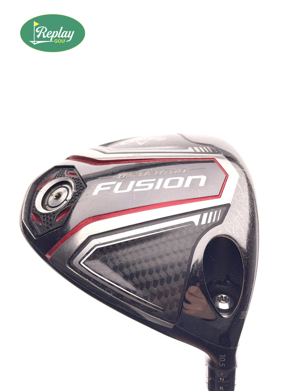 Callaway 2016 Big Bertha Fusion Driver / 10.5 Degree / Recoil ES 440 F3 Regular - Replay Golf