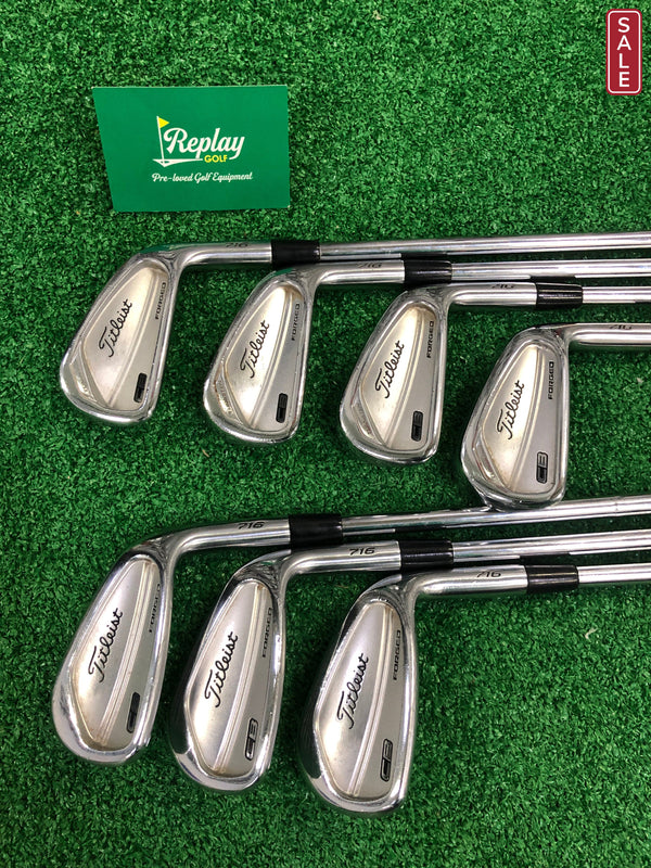 Titleist 716 CB Irons / 4-PW / Dynamic Gold AMT X100 X-Flex / +0.75 Inch