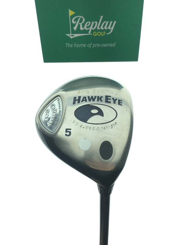 Callaway Hawkeye VFT 5 Fairway Wood / 18 Degrees / Gems 50 Ladies Flex - Replay Golf