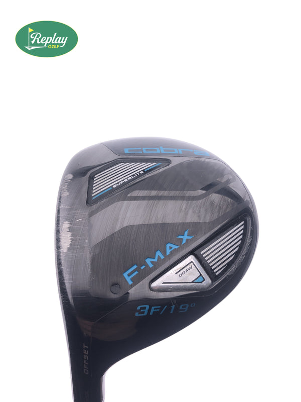 Cobra Ladies F-Max Superlite 3 Fairway Wood / 19 Degrees / Ladies Flex / LEFT Hand - Replay Golf