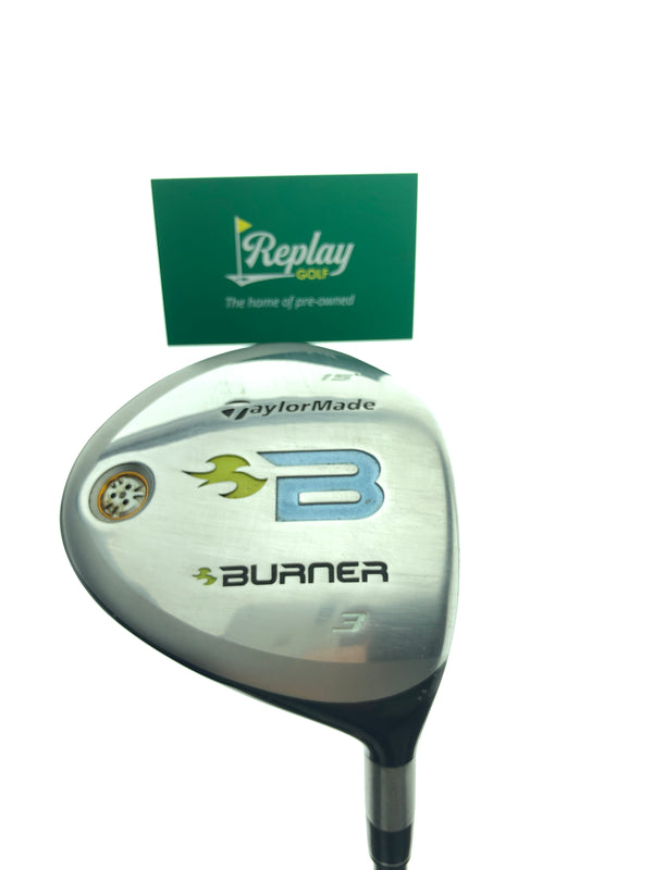 TaylorMade 2008 Burner 3 Fairway Wood / 15 Degrees / REAX 49 Ladies Flex - Replay Golf
