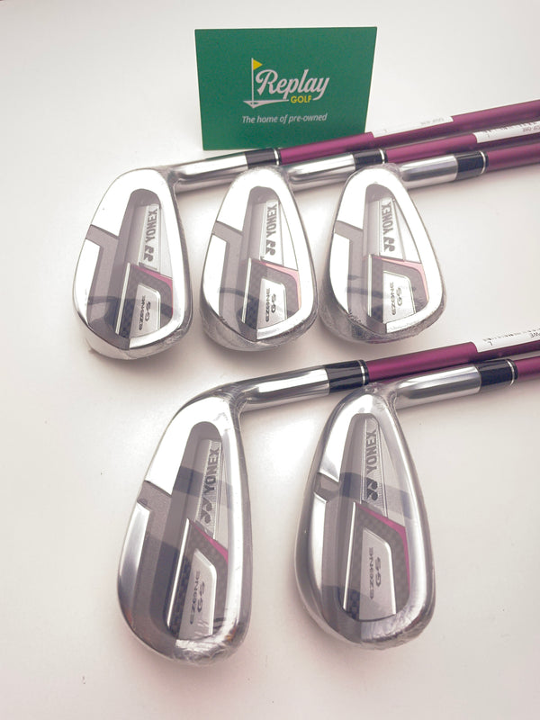 NEW Yonex Ladies Ezone GS Iron Set / 7-SW / Yonex EX-330 Ladies Flex - Replay Golf