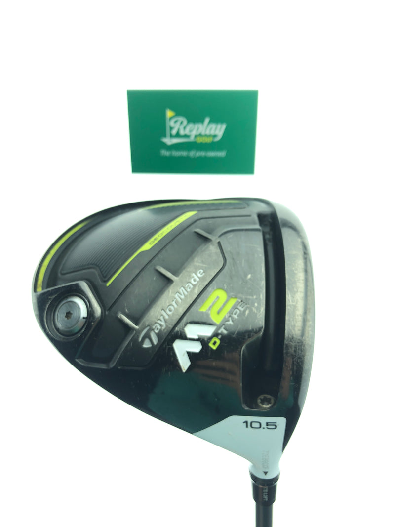 TaylorMade M2 D-Type 2017 Driver / 10.5 Degree / Matrix A Flex / -1.75 Inch Short - Replay Golf