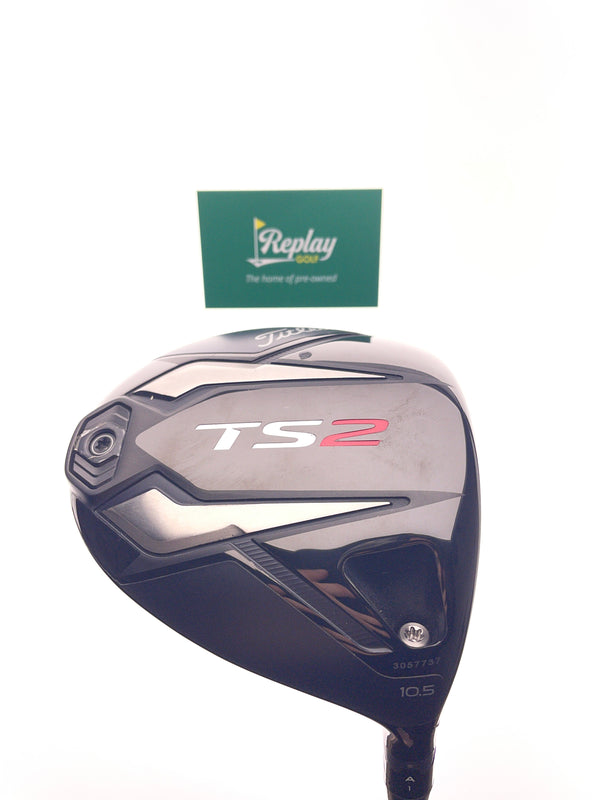 Titleist TS2 Driver / 10.5 Degrees / Kurokage Black 50 Stiff Flex - Replay Golf