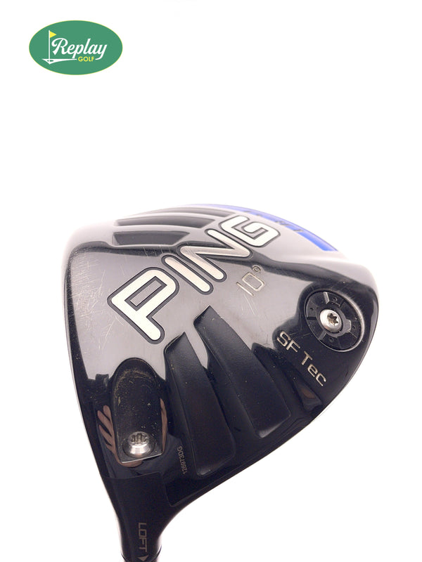 Ping G30 SF Tec Driver / 10 Degrees / Ping TFC 419 Stiff Flex / LEFT HANDED