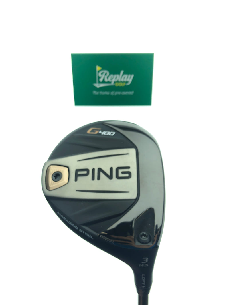 Ping G400 3 Fairway Wood / 15 Degrees / Alta CB 65 Regular Flex