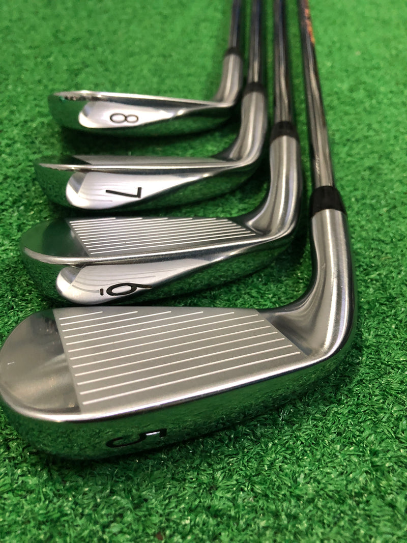 Titleist T200 Iron Set / 5-PW+GW / N.S. Pro Zelos 6 - Replay Golf