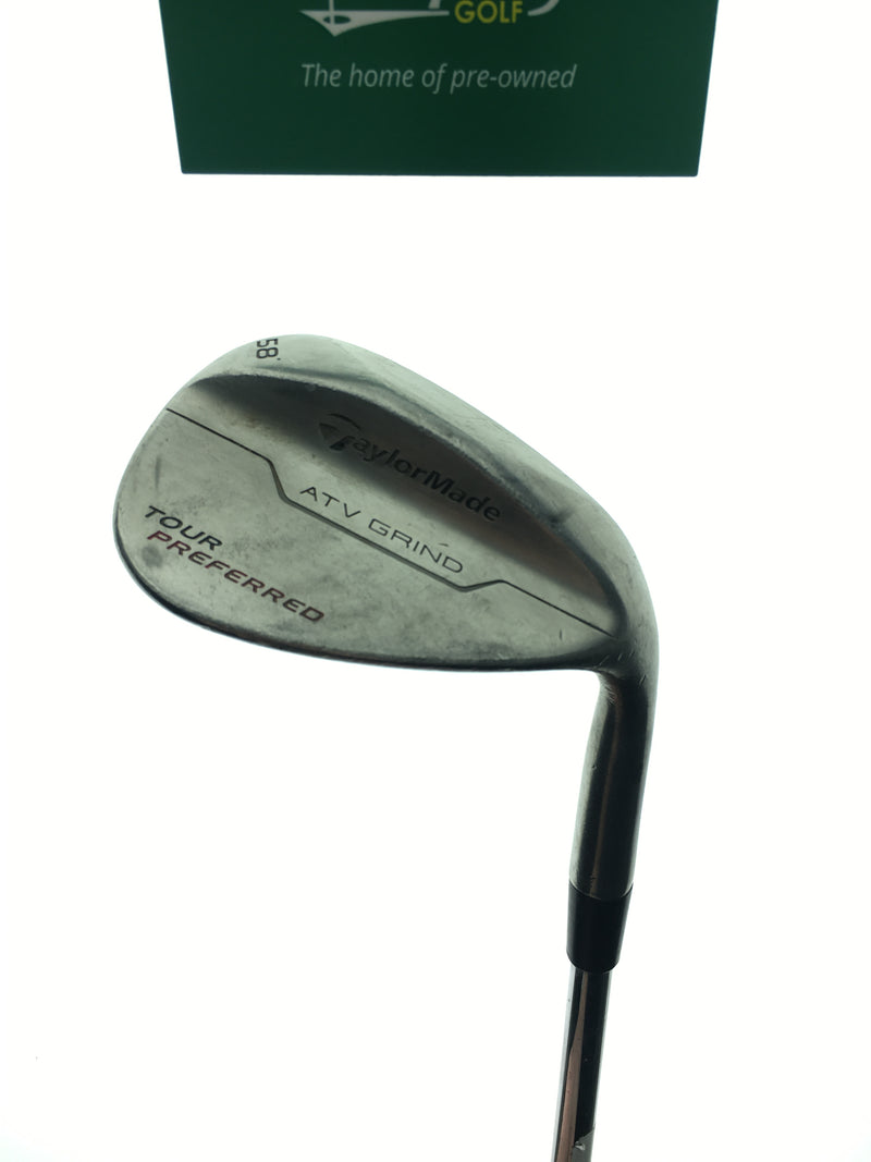 TaylorMade Tour Preferred Lob Wedge / 58.0 Degrees / KBS Tour-V Wedge Flex - Replay Golf