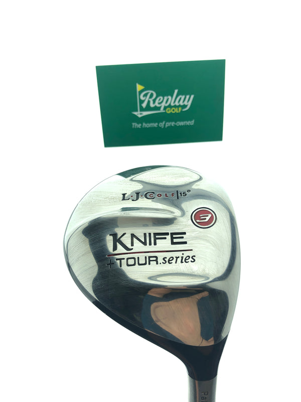 LA Jolla Knife + Tour Series 3 Fairway Wood / 15 Degrees / Stiff Flex - Replay Golf