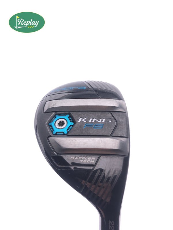 Cobra King F8 4 Hybrid / 22 Degrees / Aldila Rogue Pro Ladies Flex - Replay Golf