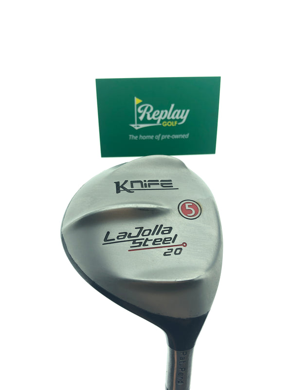 LA Jolla Knife 5 Fairway Wood / 20 Degrees / Regular Flex - Replay Golf