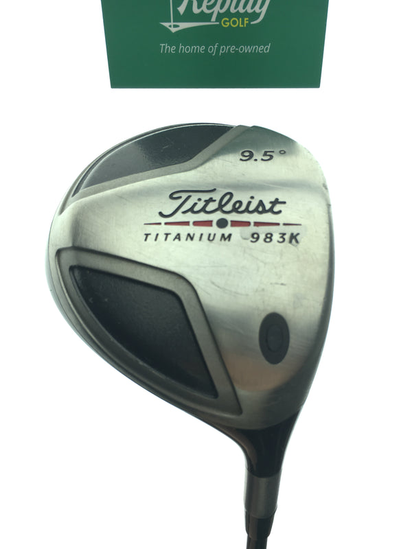 Titleist 983 K Driver / 9.5 Degrees / Graphite Design YS 6 Stiff Flex - Replay Golf