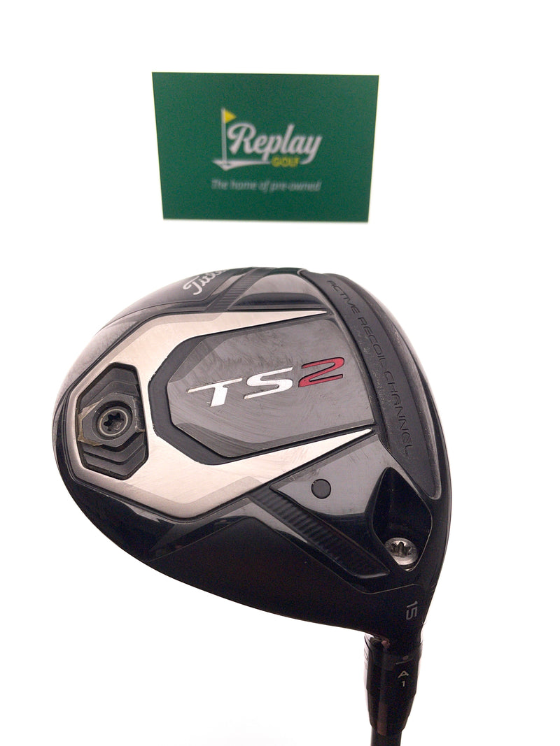 Titleist TS2 3 Fairway Wood / 15 Degree / Project X Hzrdus Smoke 5.5 70g Regular - Replay Golf
