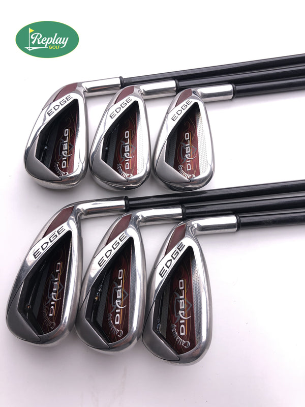 Callaway Diablo Edge Iron Set / 5-PW / Graphite Regular Flex