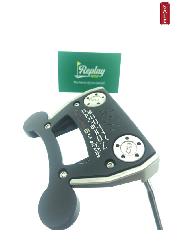 Scotty Cameron Futura 6M Dual Balance Putter / 37.0 Inches - Replay Golf
