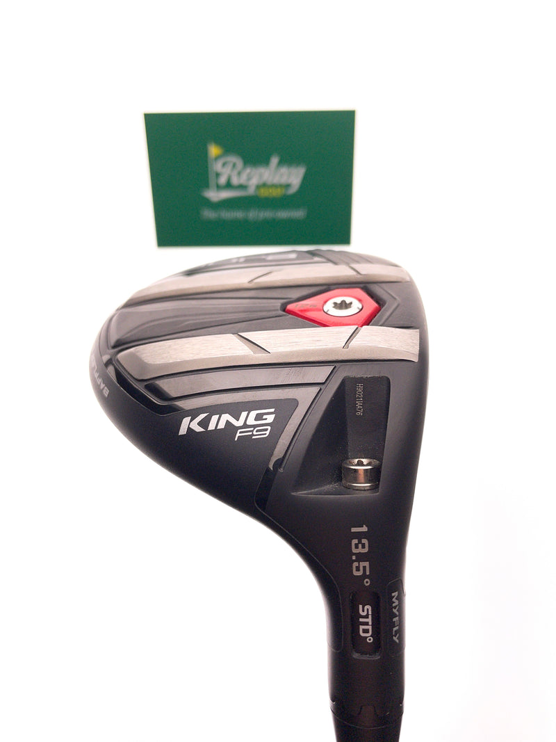 Cobra KING F9 Speedback Tour 3 Fairway Wood / 13.5 Degree / Atmos Blue 7S Stiff - Replay Golf