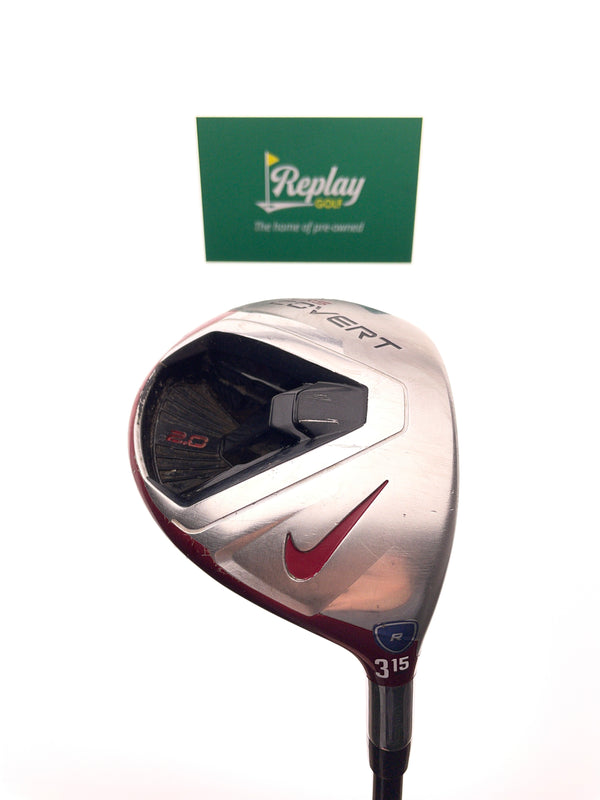 Nike VRS Covert 2.0 3 Fairway Wood / 15 Degrees / Kuro Kage 60g Regular Flex - Replay Golf