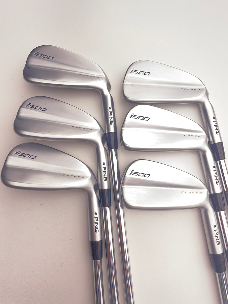 Ping i500 Iron Set / 5-PW / True Temper XP 95 R300 Regular Flex / -0.5 Inch - Replay Golf