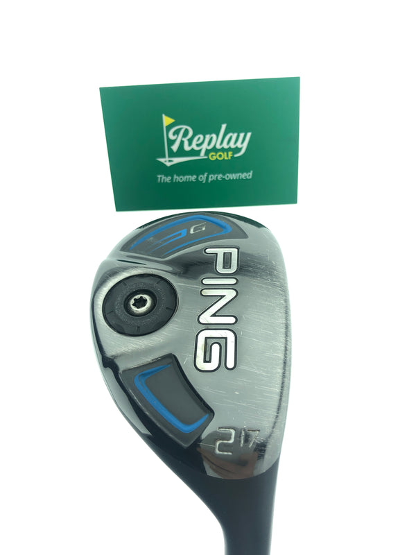 Ping 2016 G Series 2 Hybrid / 17 Degrees / Ping Tour Stiff Flex