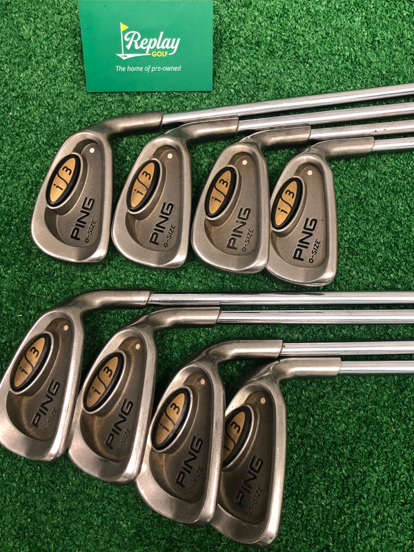 Ping i3 Oversize Iron Set / 3-PW / White Dot / Regular Flex