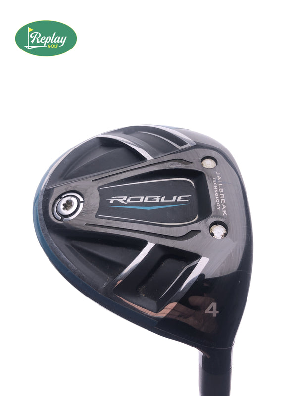 Callaway Rogue 4 Fairway Wood / 17 Degrees / Aldila Synergy Stiff Flex - Replay Golf