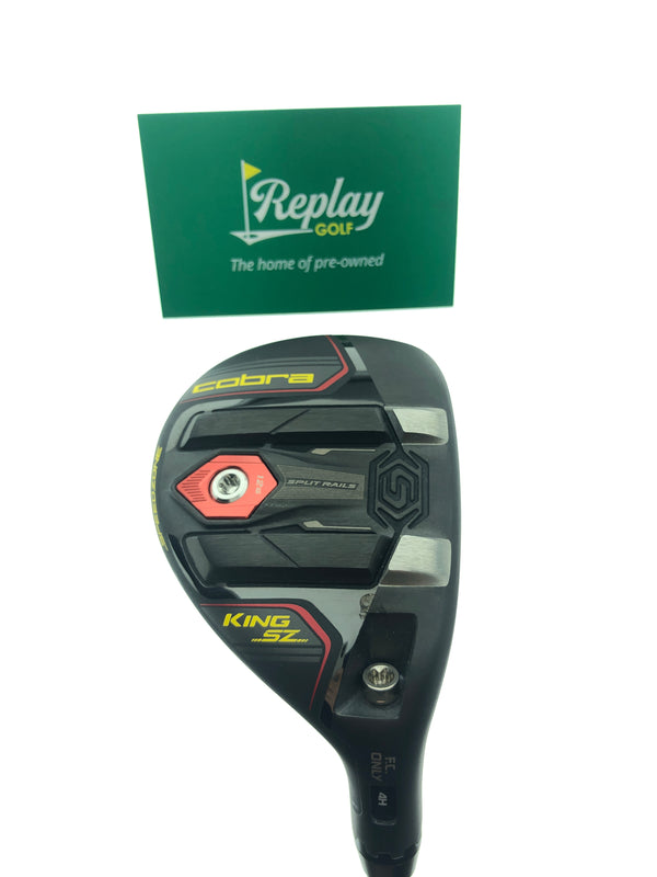 Cobra King Speedzone 4 Hybrid / 21 Degrees / UST Recoil ESX 480 F3 Regular Flex - Replay Golf