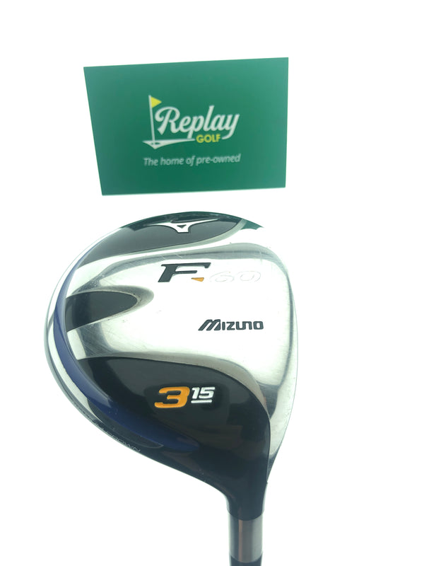 Mizuno Ladies F-60 3 Fairway Wood / 15 Degrees / Ladies Flex - Replay Golf