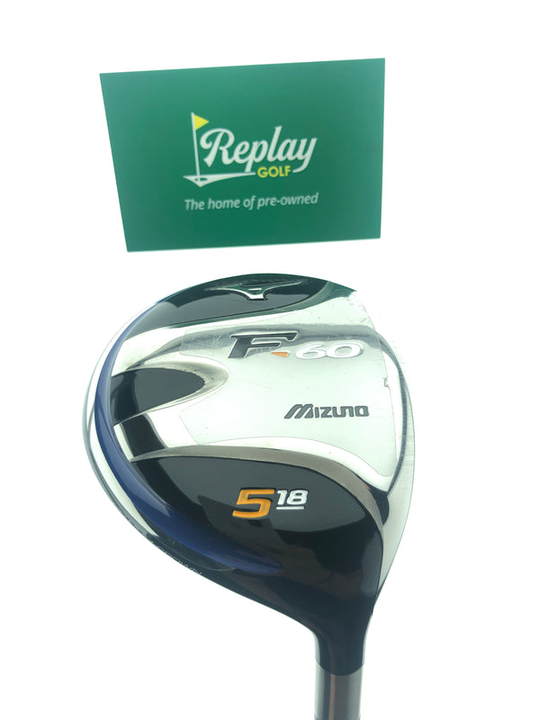 Mizuno Ladies F-60 5 Fairway Wood / 18 Degrees / Ladies Flex - Replay Golf