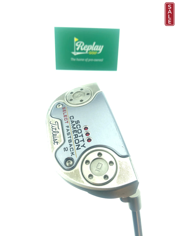 Scotty Cameron Select Fast Back 2 Putter / 35 Inch - Replay Golf