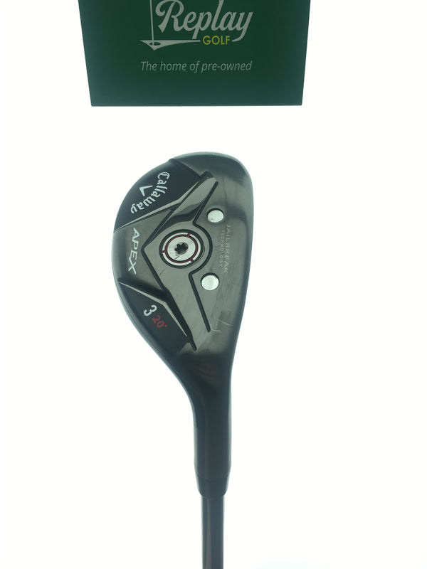 Callaway Apex 19 3 Hybrid / 20 Degrees / Project X Catalyst 70 HY 5.5 Regular Flex - Replay Golf