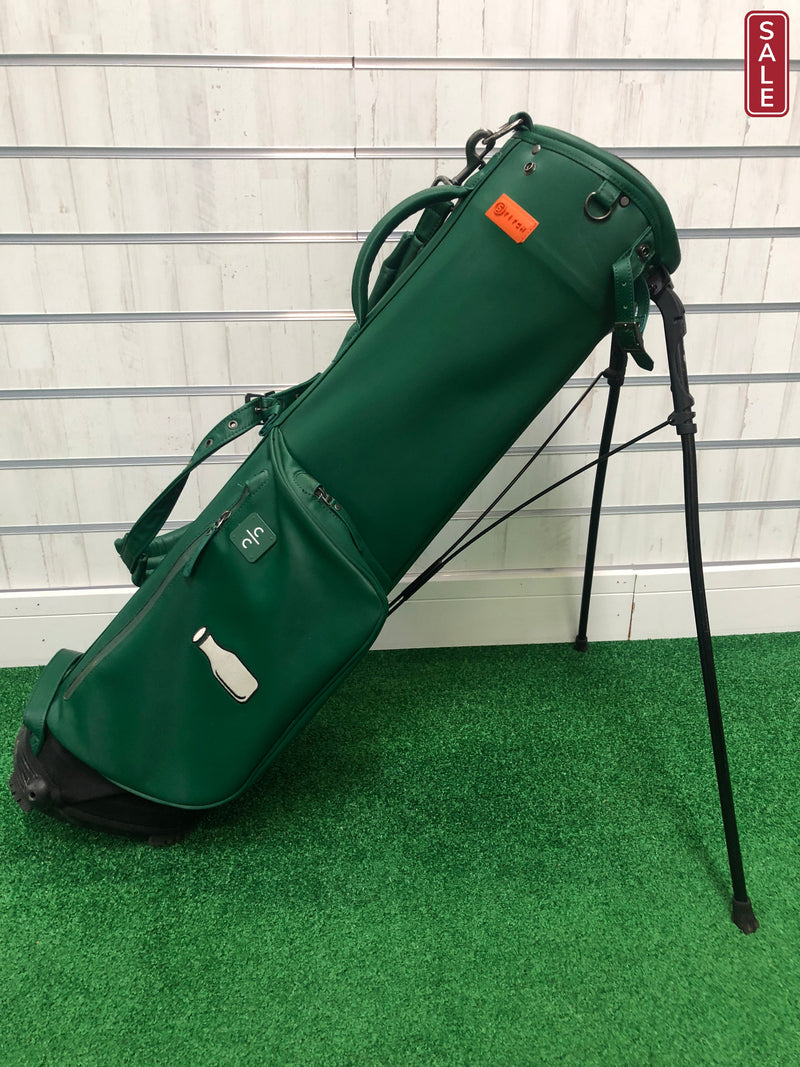 Stitch Golf Stand Bag / Green / 2 Way Divider - Replay Golf