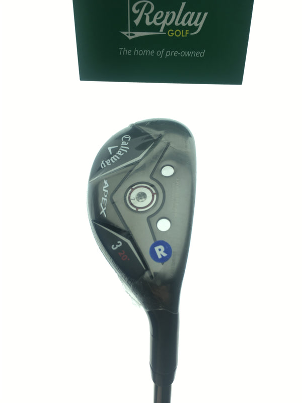 Callaway Apex 19 3 Hybrid / 20 Degrees / Project X Catalyst 70 5.5 Regular Flex - Replay Golf