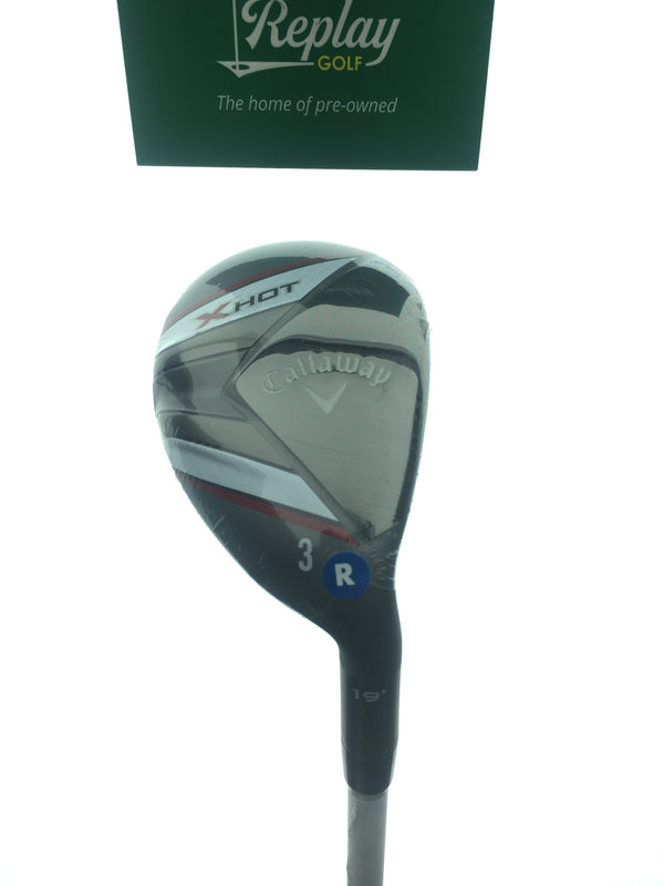 NEW Callaway X Hot 19 3 Hybrid / 19 Degrees / Project X PXV Regular Flex - Replay Golf