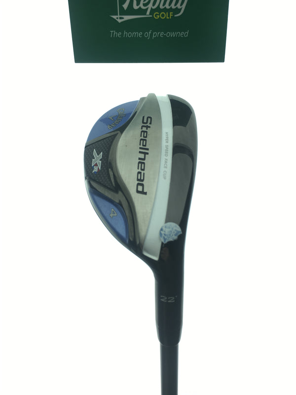 Callaway Steelhead XR 4 Hybrid / 22 Degrees / Matrix Ozik Program F15 50 Ladies - Replay Golf