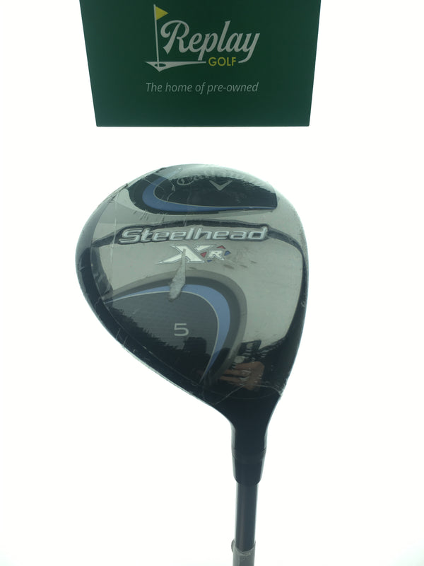 NEW Callaway Steelhead XR 5 Fairway Wood / 18 Degree / Tensei CK Blue 45 Ladies - Replay Golf