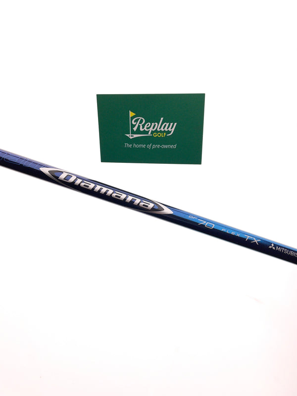 Mitsubishi Diamana BF70 TX Fairway Shaft / TX Flex / PXG Adapter - Replay Golf
