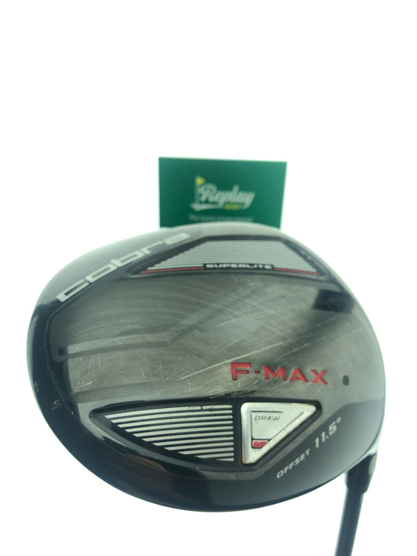 Cobra F-Max Offset Driver / 11.5 Degrees / Graphite SuperLite 45 Senior Flex - Replay Golf