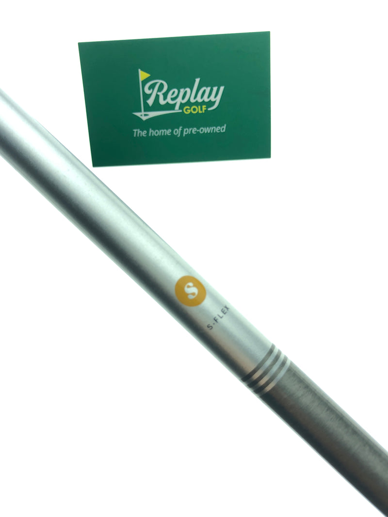 "Aerotech Steel Fibre i95 Shaft / Stiff Flex / 37.75"" / NO Adapter / .370'' Tip Size - Replay Golf"