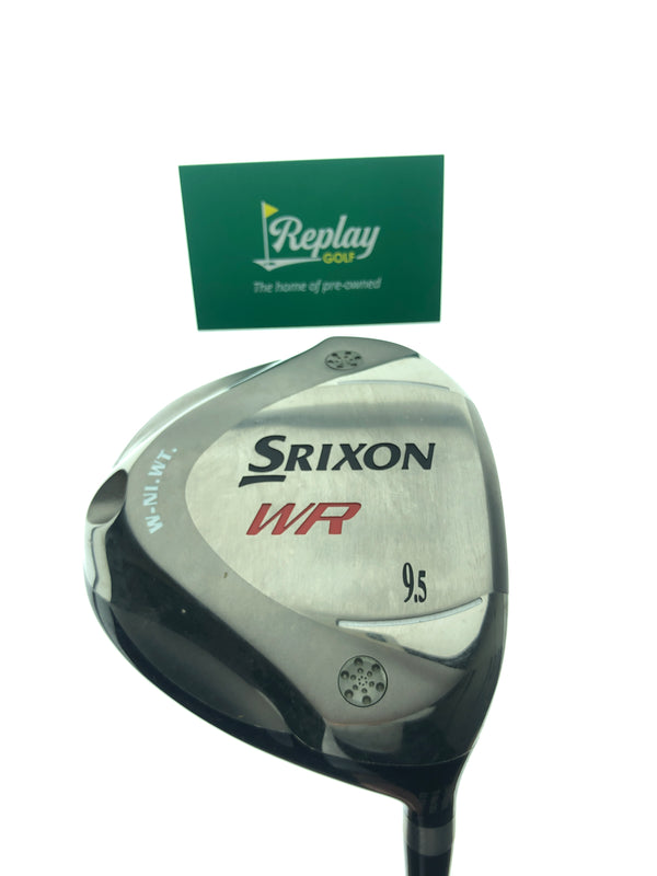 Srixon WR Driver / 9.5 Degrees / Srixon SV-3011J Stiff Flex - Replay Golf