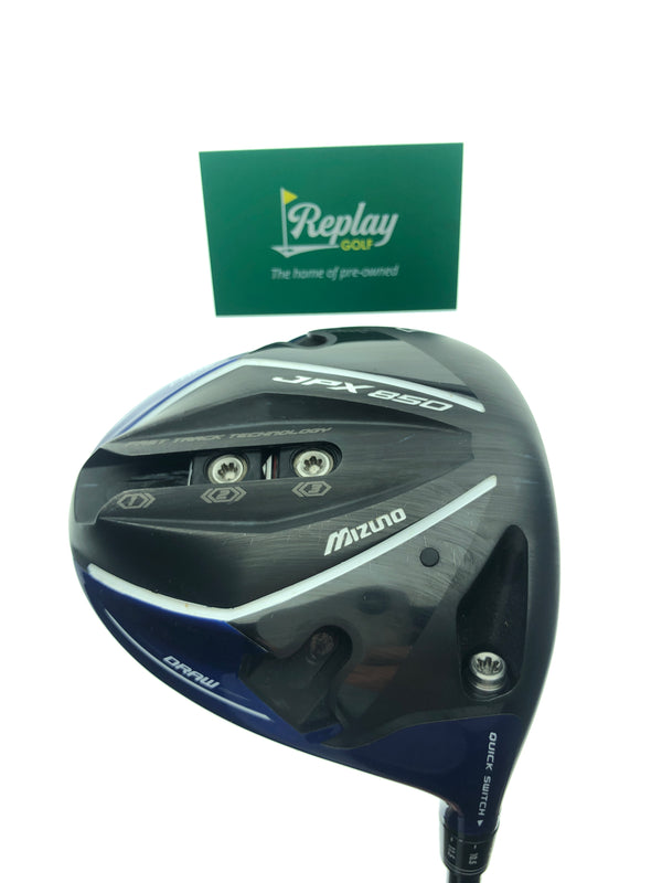 Mizuno JPX 850 Driver / 10.5 Degrees / Tensei CK Series 50 A-Flex - Replay Golf