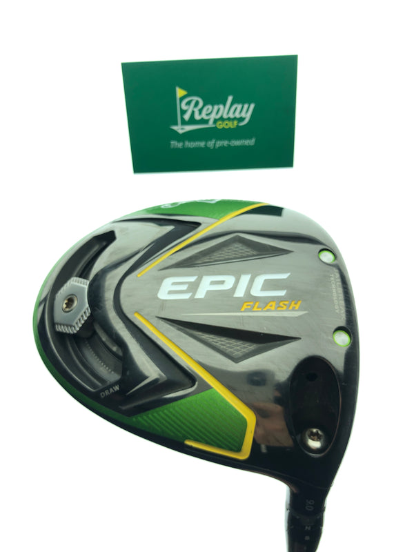 Callaway EPIC Flash Driver / 9.0 Degrees / Fujikura XLr8 Pro 61 X-Flex - Replay Golf